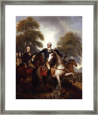 Washington Before Yorktown Framed Print by Rembrandt Peale