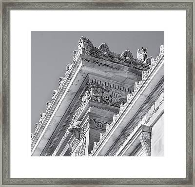 Washington Dc Architecture Framed Print