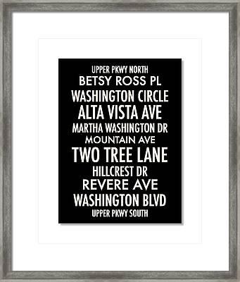Washington Highlands Framed Print by Geoff Strehlow