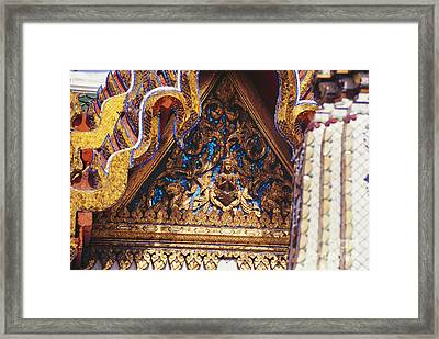 Wat Phra Keo (grand Palac Framed Print by Allan Seiden - Printscapes
