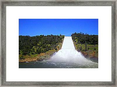 Framed Print featuring the photograph Water by AJ Schibig