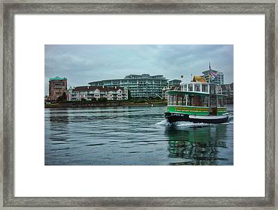 Water Bus Framed Print by Anastasia Michaels