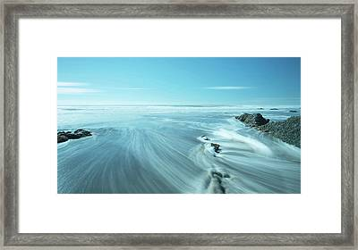 Water Framed Print by Svetlana Sewell