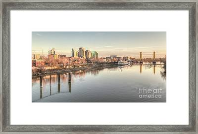 Waterfront Wonder  Framed Print by Charles Garcia