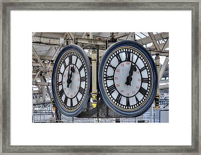 Waterloo Station - London Framed Print by Joana Kruse