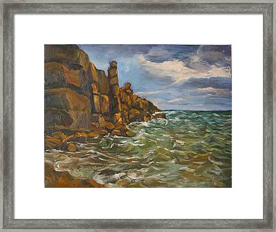 Wave  Framed Print