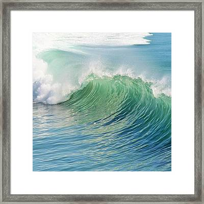 Waves Framed Print by Marianna Mills
