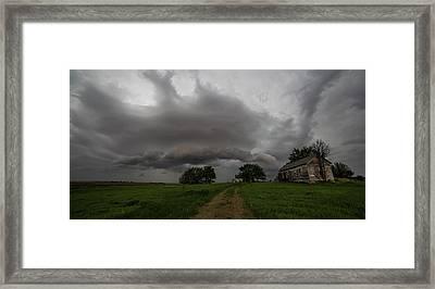 Weathered  Framed Print by Aaron J Groen
