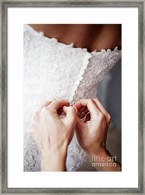 Wedding Day Framed Print by Kati Molin