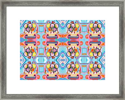 Weight Lifting Framed Print by Ky Wilms