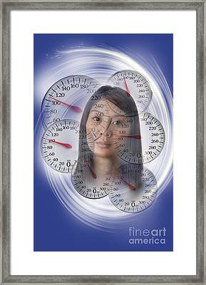Weight Obsession Framed Print by George Mattei