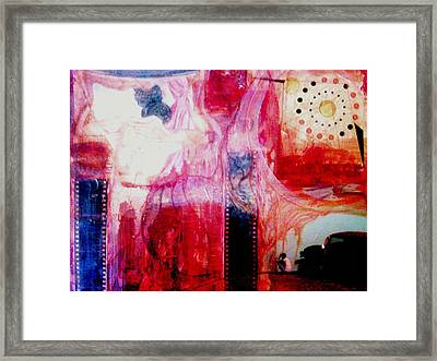 Weight Of The World Framed Print by James Harper