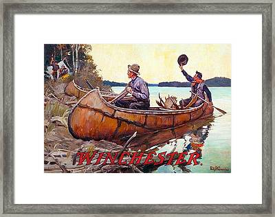 Welcome Back To Camp Framed Print