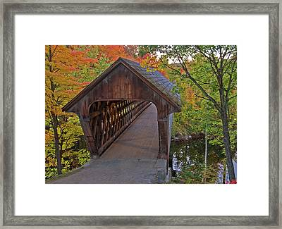 Welcoming Autumn Framed Print