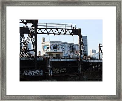 Wellington Station Framed Print