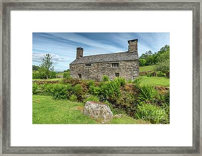 Welsh Cottage Framed Print