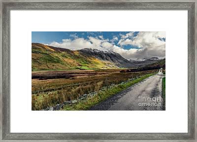 Welsh Valley Framed Print