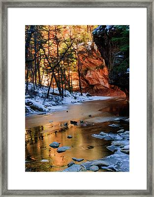 West Fork 07-044 Framed Print by Scott McAllister