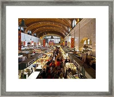 West Side Market  Framed Print by Tim Fitzwater