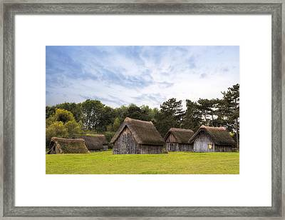 West Stow Anglo-saxon Village - England Framed Print by Joana Kruse