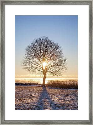 Framed Print featuring the photograph Whaleback Sunrise by Robert Clifford