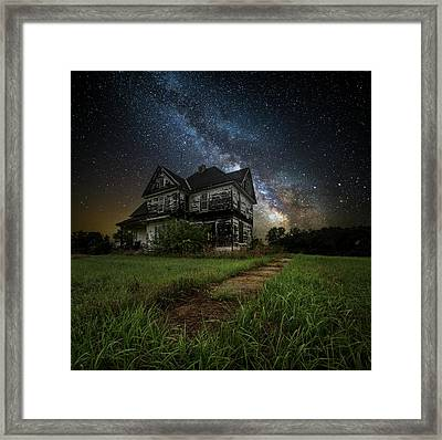 What Once Was Framed Print by Aaron J Groen