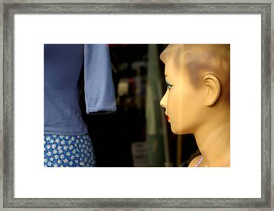 What To Think Framed Print by Jez C Self