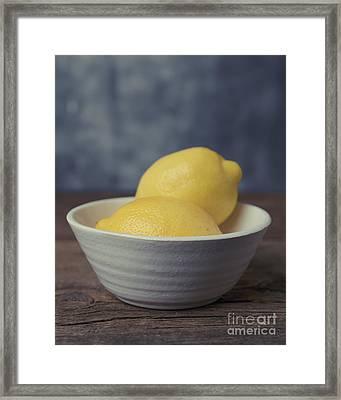 When Life Gives You Lemons Framed Print