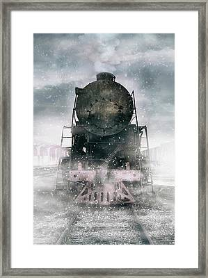 When The Winter Comes Framed Print