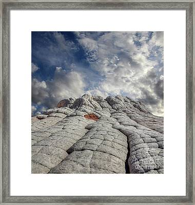 Framed Print featuring the photograph Where Heaven Meets Earth 2 by Bob Christopher