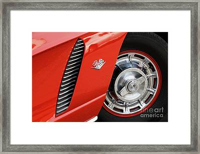Framed Print featuring the photograph Where Were You In '62 by Dennis Hedberg