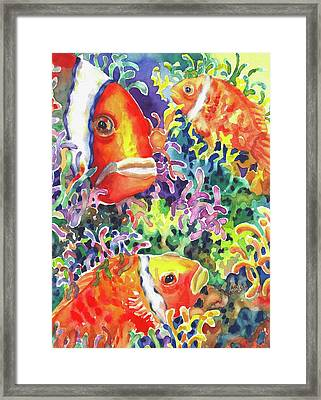 Where's Nemo I Framed Print