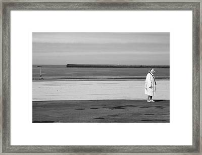 Which Way Framed Print by Jez C Self