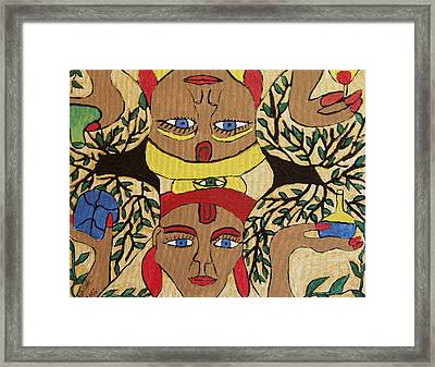 Which Way Standing Framed Print by Betty  Roberts