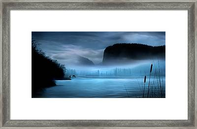 Framed Print featuring the photograph While You Were Sleeping by John Poon