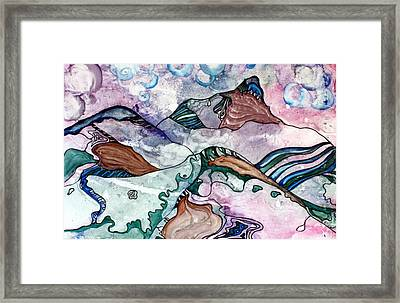 Whimsical Tuscany Framed Print by Pat Purdy