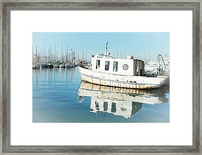 White Lady Framed Print
