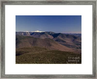 White Mountains Nh Usa Framed Print by Erin Paul Donovan