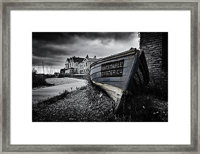 Whitstable Oysters Framed Print by Ian Hufton