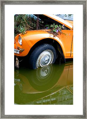 Whoops Framed Print by Jez C Self