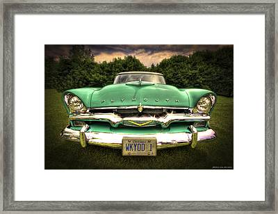 Wicked One Framed Print