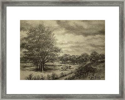 Wickliffe Landscape  Framed Print