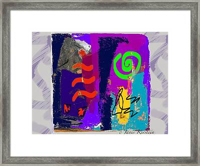 Wild And Wicked 9 Framed Print