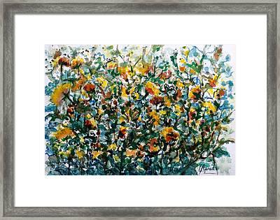 Wild Flowers#3 Framed Print