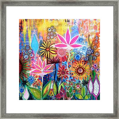 Wild Garden Framed Print by Robin Mead