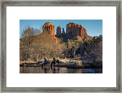 Framed Print featuring the photograph Wild Wild West by Kelly Marquardt