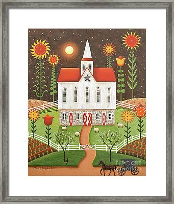 Wildflowers Framed Print by Mary Charles