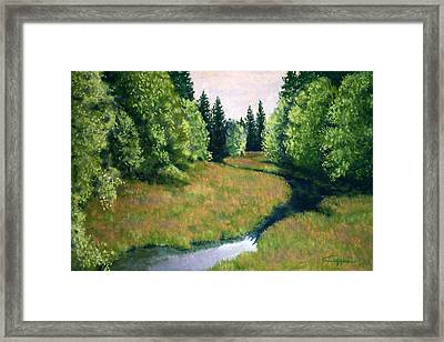 Willamette Valley Summer Framed Print by Carl Capps