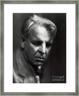 William Butler Yeats Framed Print