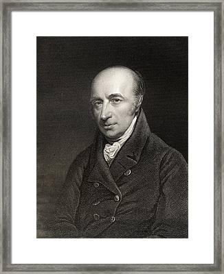 William Hyde Wollaston, 1766-1828 Framed Print
